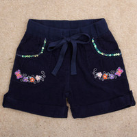 Wholesale Nova Kid Wear Girl Flower - baby & kids clothing shorts for girls new 2015 nova brand summer baby girl casual wear with button and Embroidery flower M4768