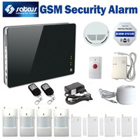 Wholesale Alarm System Sms Calling - Wholesale-iOS $ Android App Support Wireless GSM SMS alarm System smart Home Security alarm Remote Control by SMS & Calling SG-172