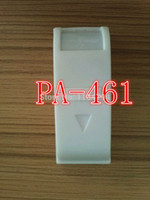 Wholesale Infrared Curtain - Wholesale-PA-461 mini white Wired Passive Infrared Curtain PIR Motion Detector Sensor Alarm