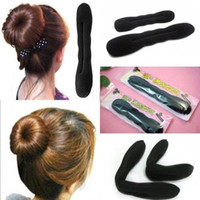 Оптово-новый модный женский U Pick Foam Magic Styling Tool Hair Bun Maker Twist Big / Small