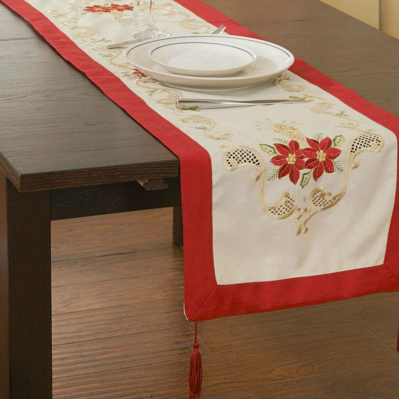 Xmas Table Linen Part - 26: See Larger Image