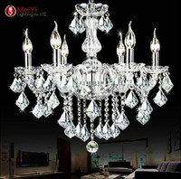 2015 Cheap Crystal Chandelier moroccan decor lustres e pendentes de cristal  Clear Chandelier Crystal Free shipping from dropshipping suppliers