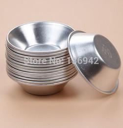 Gros-30 pièces B05 Haute Qualité En Aluminium Moule À Tarte Moule À Tarte Moules De Cuisson Quiche Casseroles 7 * 4 * 1.8 cm ? partir de fabricateur