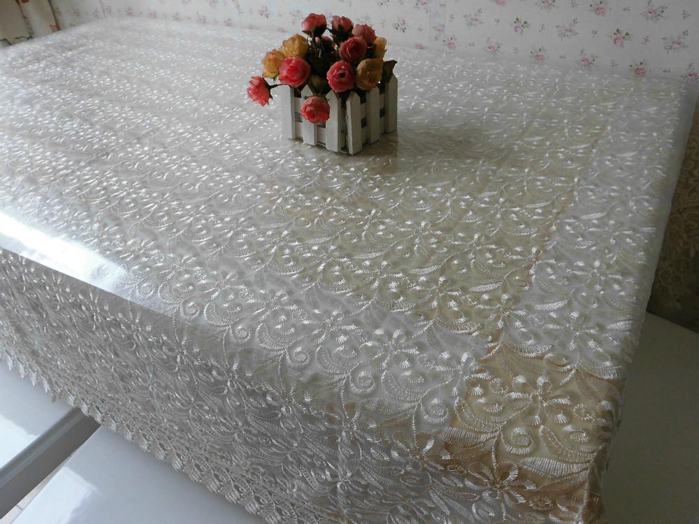 Superb 2015 Fashion White Openwork Lace Tablecloths Elegant Table Cloth 130*180cm  Free Shippng Dining Table Cloth Online Table Linen Online From Housegarden,  ...