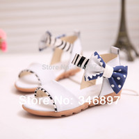 Wholesale Crochet Cow Free - New Open-toed hollow out Bow children sandals size 27-38 Zapatos para ninos Free shipping