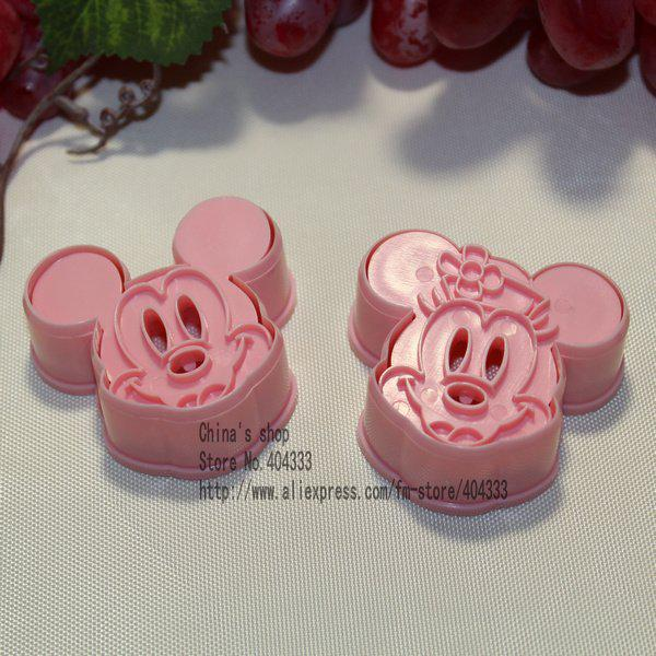 Cookie Persses Mickey Mouse Amp Minnie Cookie Cutter Mould Cookie