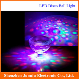 Wholesale Lights For Bath Tub - 2015 New Water Bottom Show LED Disco Ball Multi Light Bath Hot Tub SPA Jacuzzi Decoration for the Pool Party Free Shipping
