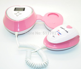 Wholesale Doppler Heart Detector - Health Care CE LCD Pocket Fetal Doppler Ultrasound Prenatal Detector Baby Fetal Heart Rate Baby Monitor Free P&P