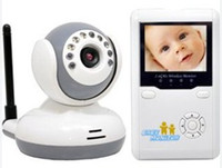 2.4 polegadas LCD tela Kit Baby Monitor 2.4GHz Digital IR vídeo falar uma Câmera Night Vision Vídeo Intercom Interphone