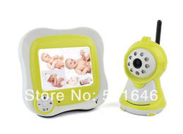 Wholesale Long Range Audio Monitor - 3.5inch color LCD Receiver with audio video baby Monitor long range wireless Baby Monitor 2.4Ghz Digital baby monitors