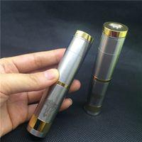 Wholesale Aqua Clone - Wholesale-Nemesis Mechanical Mod stainless steel 18650 mech MOD clone fit kayfun ithaka aqua protank plume veil kennedy RDA RBA atomizers