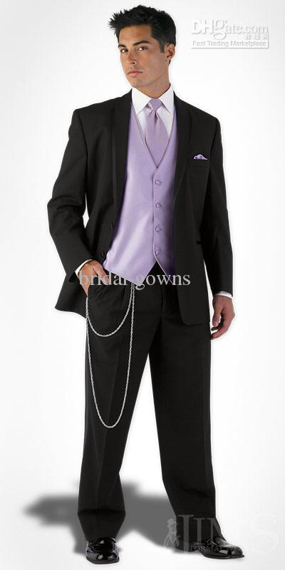 custom new style men weddingprom groom tuxedos bridegroom suit jacketpantstievest a208