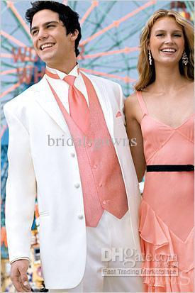 Custom New Style Men Wedding/Prom Groom Tuxedos Bridegroom Suit ...