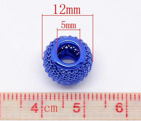 Mischte Abstandhalter-Korne passendes Charme-Armband 12x10mm