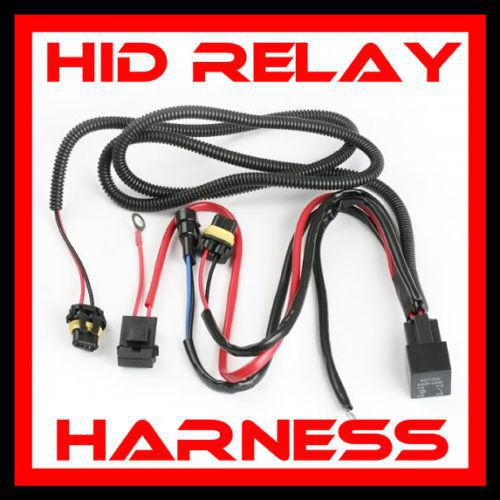 20PCS USA UK!!! H1 H3 H13 880 881 HID XENON CONVERSION KITS RELAY WIRE WIRING HARNESS 40A NO FLICKER