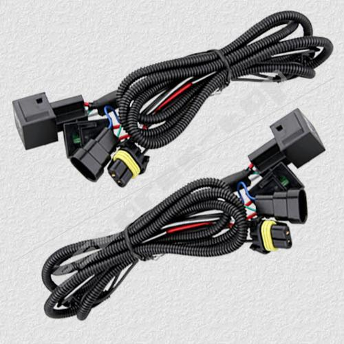 GOOD 9005 9006 HID XENON CONVERSION KITS RELAY WIRE WIRING HARNESS 40A NO FLICKER Hid Offroad Lights Replacement Kits From Flourishgz 11056