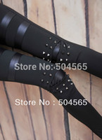 Wholesale Leggings Studs - LG-471 Women's PU Leather Patchwork Leggings Fashion Studs Rivet Punk Leggings Pencil Pants