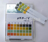 Wholesale Box Experiment - 100Pcs Box High Quality 0 ~ 14 PH Test Paper Used For Measure Water Chemistry Experiment Urine Sialic Vaginal Amniotic Liquid