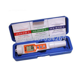 Wholesale Digital Dual Meter - 0~14PH Pocket Digital Pen pH Meters Temperature Dual Display Hand held PH Tester Waterproof