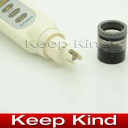 Wholesale Multi Tester Digital - AZ8684 Pen Type Good Quality Digital ph meter Water ph Meter tester C F Multi points calibration Date Hold Waterproof
