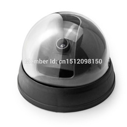 Wholesale Low Priced Dome Camera - Free shipping! New Model Lowest price Outdoor Waterproof IR CCTV Dummy Dome of the LED fake Surveillance security camera