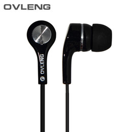 Ovleng Headphones UK - Free shipping 2015 Newest OVLENG IP530 3.5mm Stereo In-ear Earphone Headphone Headset Earbuds for   Mobile Phone
