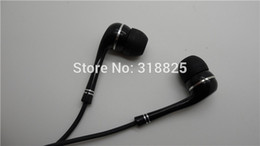 Wholesale Earphone Earbuds For Iphone5 - 3.5mm good quality colorful Earphone headphones earbuds with Mic For iPhone5 5S 4 4S FOR samsung htc blackberry with tips