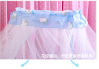 Wholesale Royal Mosquito Nets - Wholesale-Baby mosquito net French general royal Dome Elegent Lace Bed Netting Canopy indoor outdoor net
