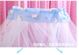 Wholesale Wholesale French Beds - Wholesale-Baby mosquito net French general royal Dome Elegent Lace Bed Netting Canopy indoor outdoor net