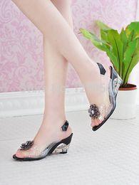 Wholesale Free Stylish Heel - Wholesale-Free shipping,Big Size 34-43 Rome stylish high quality fashion wedge heel sandals dress casual shoes lady's sandals