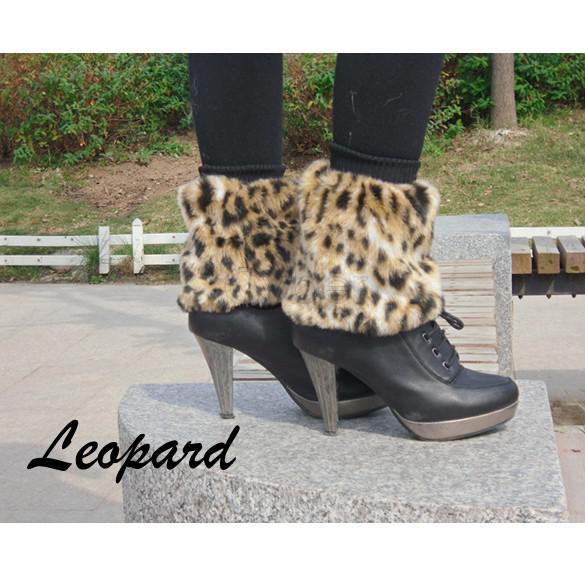 5 Par / lote 15 cm mujeres de la piel sintética inferior zapatos de tobillo calentador de la pierna botas mangas cubierta multi colores envío gratis 31