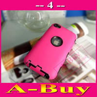 Wholesale Hard Case For Touch 4g - Wholesale-Heavy Duty Tough Hyper Hard Case Cover For iPod Touch 4 4G 4TH
