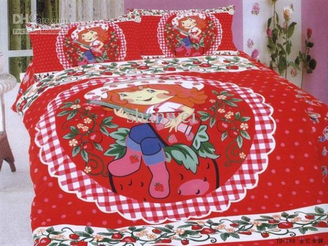 2011 Children's Bedding Sets Shortcake Strawberry Girls