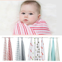 organic wool blankets - Baby Blanket Organic Cotton Muslin Blankets Aden Anais Multifunctional kids Swaddle wrap blanket baby bed sheet