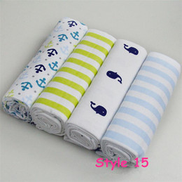 Wholesale Cheap Baby Sheets - 4pcs lot newborn bed sheet 13 styles baby bedding 100% cotton set for newborn super soft crib cheap linen 76x76cm cot boy girl