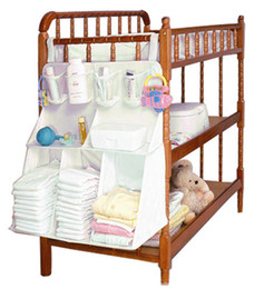 Wholesale Cribs Bedding - 2015 Brand Diapers organizer baby bed hanging bag portable storage bedding set 63*48cm multy style waterproof accessories