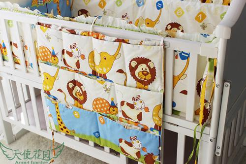 Baby Bedding Cribs For Babies Cot Bumper Kit Bed Around Piece Set ...