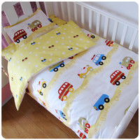 Wholesale Grass Duvet Cover - 1pc Baby Bedding Set Cotton Baby Duvet Covet Print Carton Quilt Cover For Baby Girl Boy 120X150cm Comforter Cover
