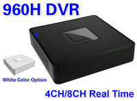 Wholesale Dvr H 264 For Iphone - 4 channel Security 4CH 8CH 960H dvr H.264 Full D1 Real-time Recording Playback Network CCTV DVR For Iphone Android online View