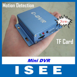 Wholesale Cctv Cards For Pc - Christmas Mini DVR C-DVR Video Audio Recorder Motion Detection TF Card Recorder for CCTV