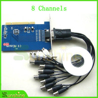 Wholesale Pci Dvr Card Real - Free Shipping 8 Channel CCTV DVR Pci Real Time Capture Card For Camera,Factory Price Free Shipping