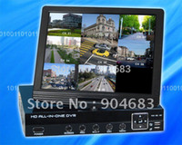 Wholesale NEW CH CCTV Digital Video Recorder DVR with LCD monitor Screen inch Combo DVR laptop Shape All In One Design