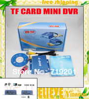 Wholesale Digital Video Recorder Ch - 1 Ch SD Card Mini CCTV DVR, With motion detect, High quality Digital Video Recorder, AV Recorder, Free Shipping