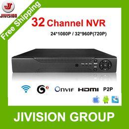 Wholesale Video Recorder 32 Channel - 32CH NVR CCTV 24CH 1080p 32CH 960p 720p NVR 32ch HDMI ONVIF P2P Cloud network support 1HDD 4TB 32 Channel Network video recorder