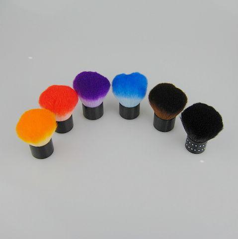 / Pinceles opcionales maquillaje Cepillo de Nylon Cepillo Kabuki Cepillos en forma de seta