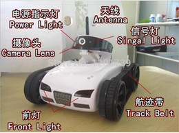 Wholesale 4ch Wifi Iphone - Cheapest price!Free Shipping Rover App-Controlled wifi live video rc 4Ch i-Spy Tank car With Camera iPhone iPod Touch iPad Toy