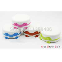 Wholesale Ultrasonic Contact Lenses Cleaner - 2015 new lovely frog Ultrasonic lens cleaner contact lenses box lens case