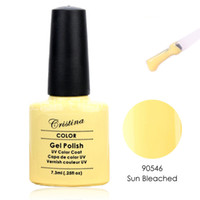 bleach sun - New Colors Sun Bleached Crislish Gel polish Soak off Long Lasting Professional Nail Beauty ml Free Ship