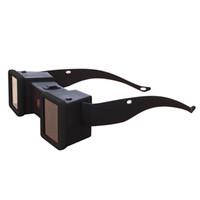 gläser für 3d-filme großhandel-Mini 3D Stereo Viewer Stereoskop 3D Film Brille