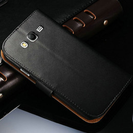Wholesale Wallet Wholesalers Site - Wholesale-New 2015 Genuine Leather Case For Samsung Galaxy Grand Neo i9060 i9082 Wallet Style With Stand 2 Card Holders 1 Bill Site